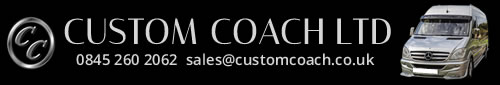 Minibus hire Cardiff, Newport, Bristol, Chepstow and Cwmbran from Custom Coach Ltd.